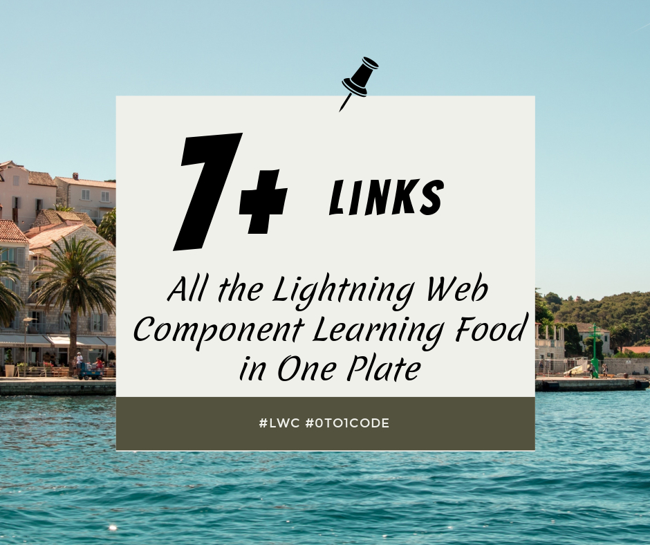 Lightning Web Component Learning Food in One Plate